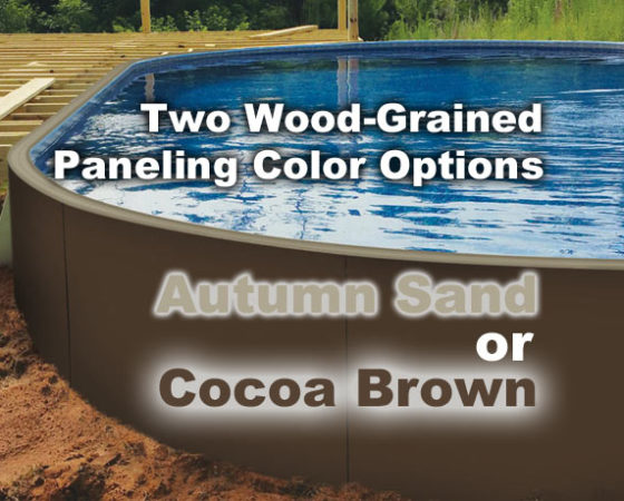 Pool Paneling Colors