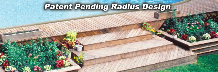 Patent-Pending Radius Top Railing