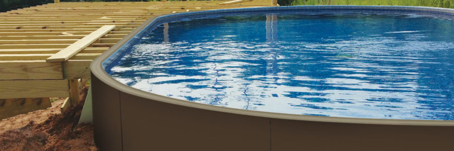 Indestructible Wood-Grained Pool Paneling