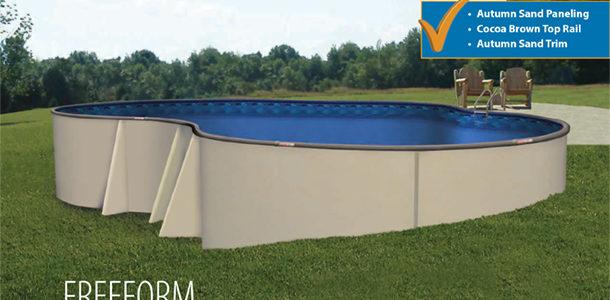 16′ x 28′ Freeform Pool