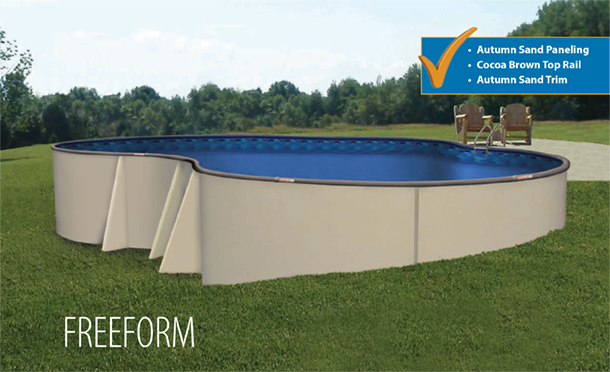 Design your funtastic semi on ground pool the funtastic pool - Custom above ground pool ...